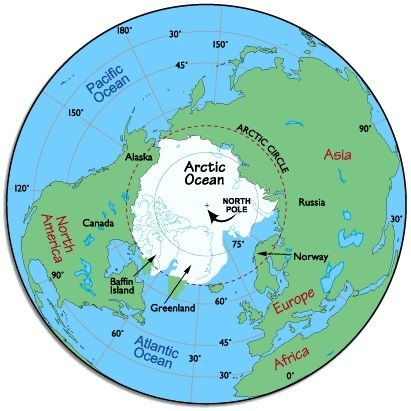 Why do flights from india to the usa not travel via the north pole as the map below shows it is a much smaller area than the arctic circle though a fly over the exact geographical north pole coordinates while possible gumiabroncs Image collections