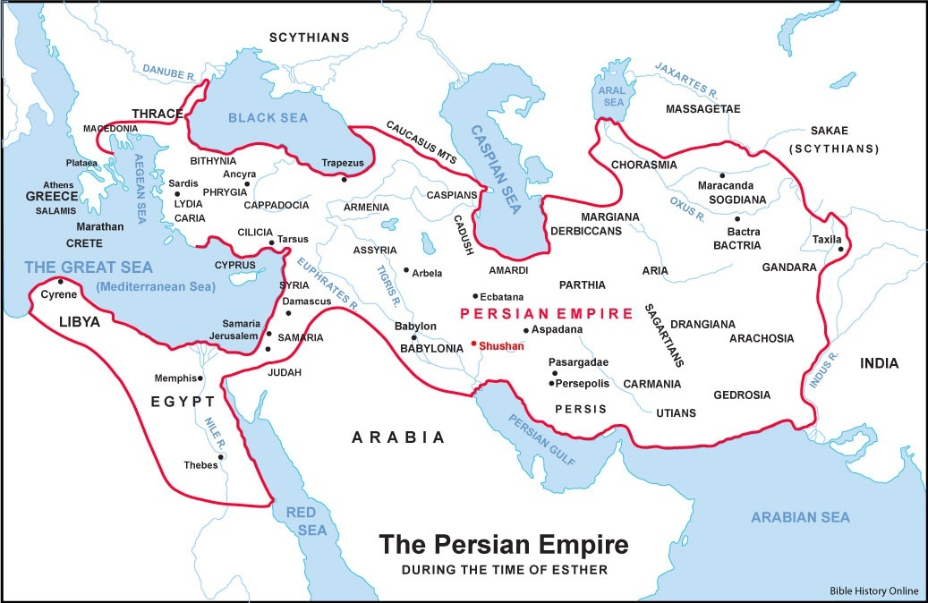 Ancient Greece Map Persian Empire.Was The Persian Empire The Same Size As Ancient Greece Quora