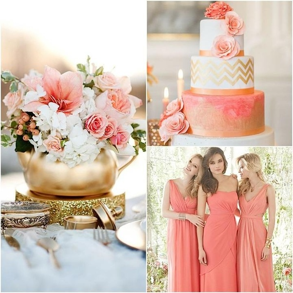 Coral Wedding Reception Ideas: What Are Colors That Go With Coral?