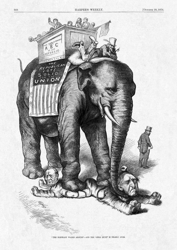 How Did The Elephant Come To Represent The Republican Party Quora