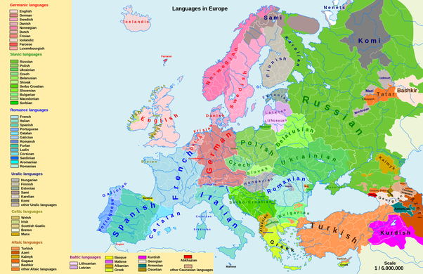 Aside From The Romance Languages And The Germanic Languages What - Types of languages in the world