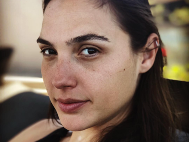 ... (Wonder Woman) is one of the most beautiful women on Earth. She is one of my favourites, more so for sharing this picture of herself without makeup :