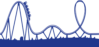 Image result for rollercoaster depression