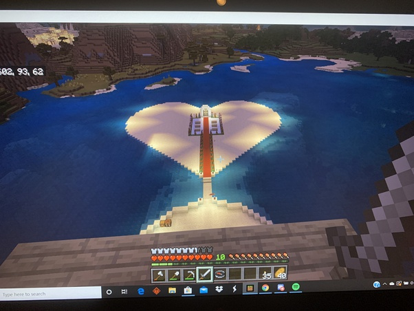I ve been playing Minecraft with my girlfriend What cute stuff