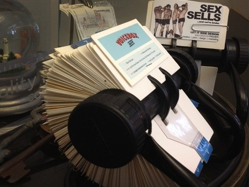 What is the proper way to dispose of no longer needed business cards whether with a rolodex as seen below an album or a board of cards its a great way to keep track of your contacts colourmoves