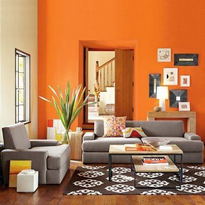 If you want to add contrast, using smaller pieces will be useful to you.  Consider the picture below to get an idea. Also, orange and turquoise  complement ...