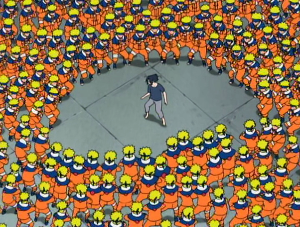 What would happen if Naruto and Sasuke were never in the same genin