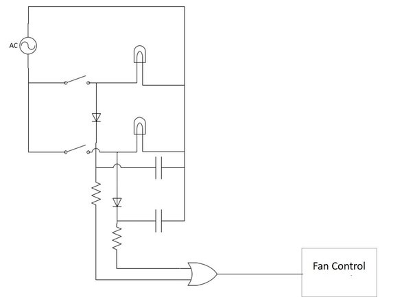 In an AC circuit can I connect 2 lighting circuits controlled by 2 ...
