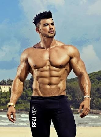 33fb80b076 Sahil khan have good body than others in 44 age and he is also the youth  fitness icon in india. He is handsome than other bodybuilders in india.