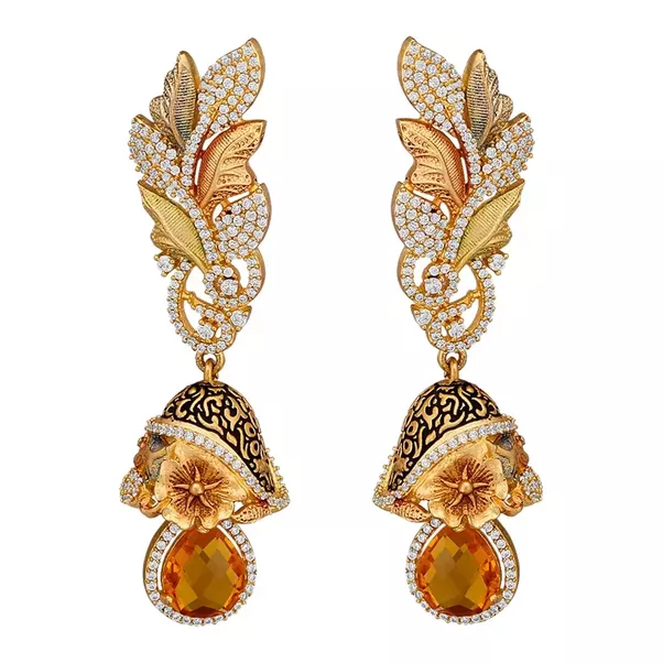 online buy designer divastri earring jewellery bulky prices drop pr alloy original purchase best at pearl imaevvqnmqgfzjzg in diamond