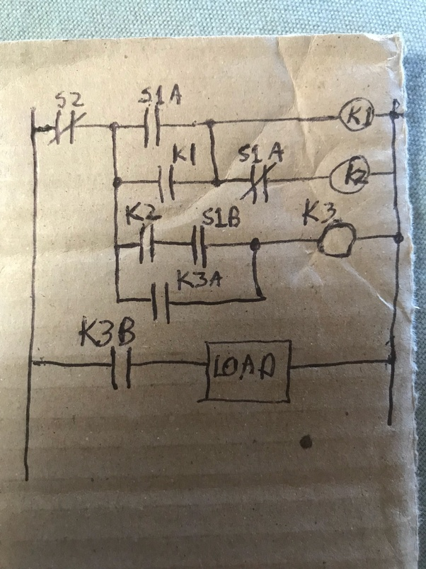 How to make a circuit for a switch that in order to turn on you need ...