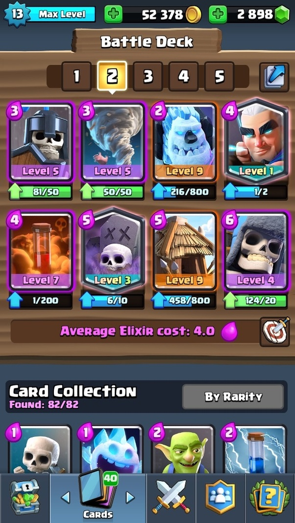 beste decks clash royale