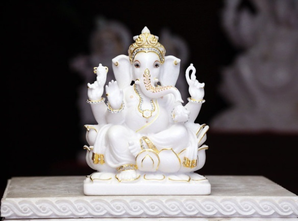 What Direction Should The Trunk Face On A Ganesh Murti Or