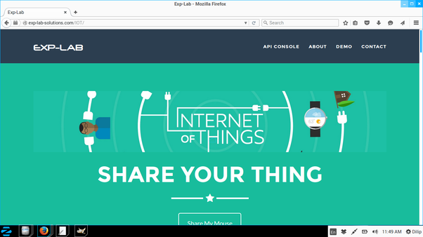I want to make a project on the iot internet of things how do i 1eating your thing by using exp lab api console solutioingenieria Image collections