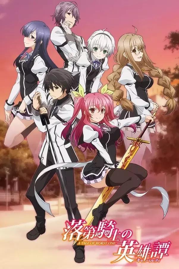 Top Twenty Anime 2015 - Prison School