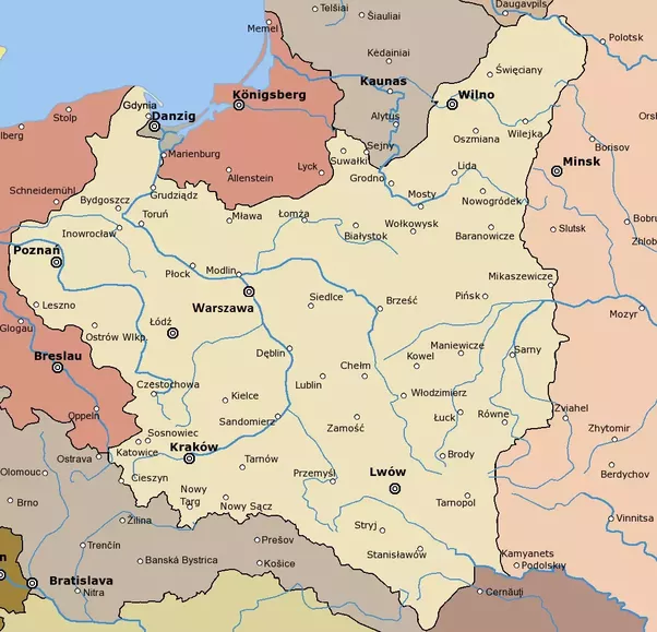 Is there any country that has geographically changed its location poland disappeared from the map for the entire 19th century until the treaty of brest litvosk after the first world war gumiabroncs Choice Image