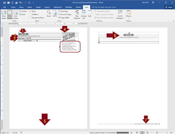 how to import a letterhead in word quora