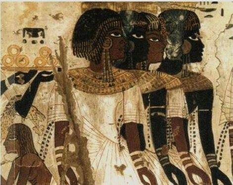 Who Built The Pyramids In Egypt And In West Africa And