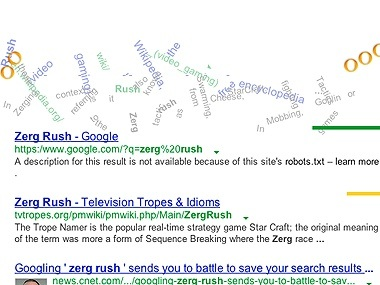 if you google zerg rush google will eat up the search results why