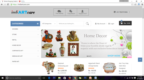 Have A Visit To Our Online Platform Indian Handicrafts, Decor Crafts Online  Shopping