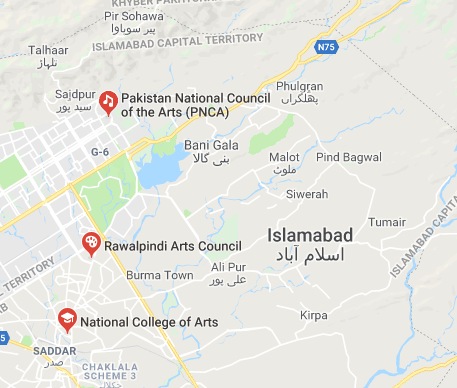 Is there any theater in Islamabad and Rawalpindi which can teach