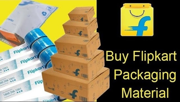 Does Flipkart provide packaging materials to sellers? - Quora