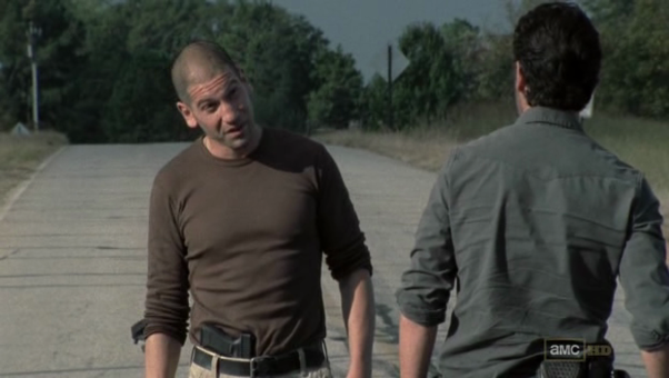 In Walking Dead Why Did Shane Aim His Gun At Rick Quora