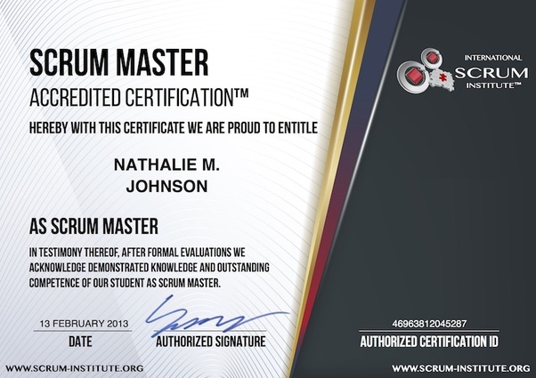 For A Scrum Master Certificate Which Should I Choose Csm