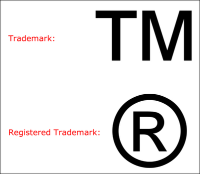 What Do The Tm And Symbols Next To The Company Product Or Brand