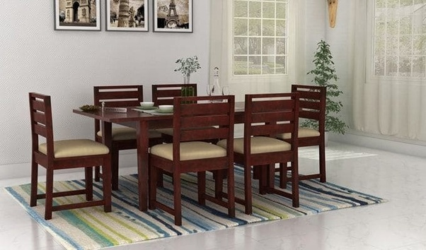 Wooden Street Also Has The Amazing Design Of Dining Table And Chairs In Extendable Features It Is A Perfect Space Saver