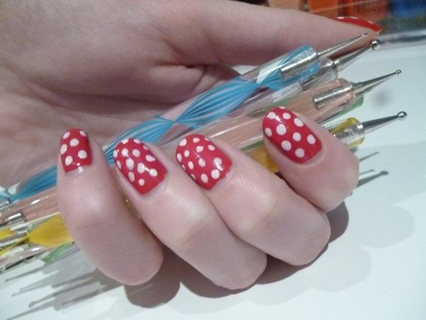 What are the essential tools to do nail art quora nail polishes nail polish remover top coat how to do nail art well it is pretty simple all you need is a design and then its video tutorial prinsesfo Image collections