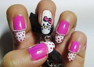 What Are The Steps To Painting Hello Kitty Nails Quora