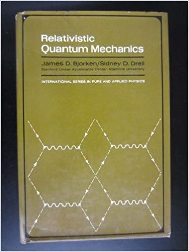 What are some recommended books on relativistic quantum mechanics