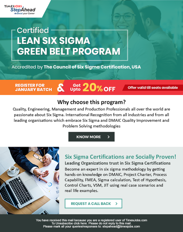 What Is The Best Way To Get Six Sigma Certification In India Is
