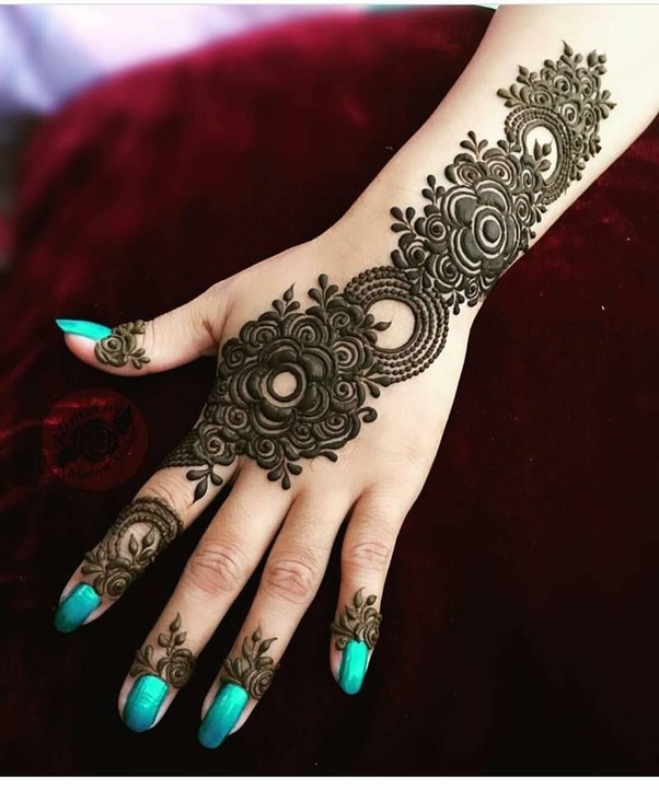 Which is the most amazing design of mehndi/heena you have ...