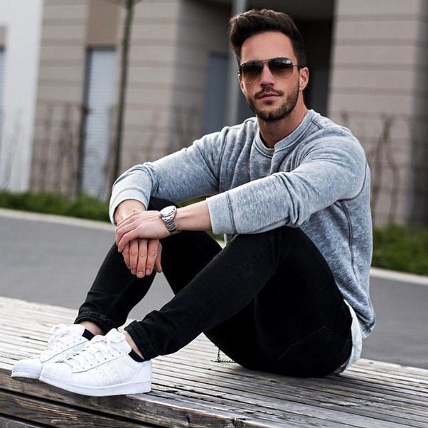 What colour top matches black pants? - Quora