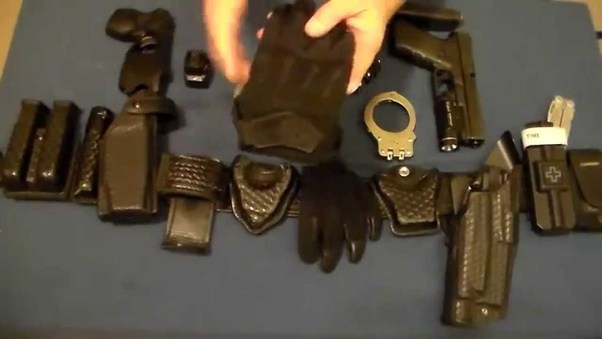 What Is The Best And Most Efficient Police Duty Belt Setup