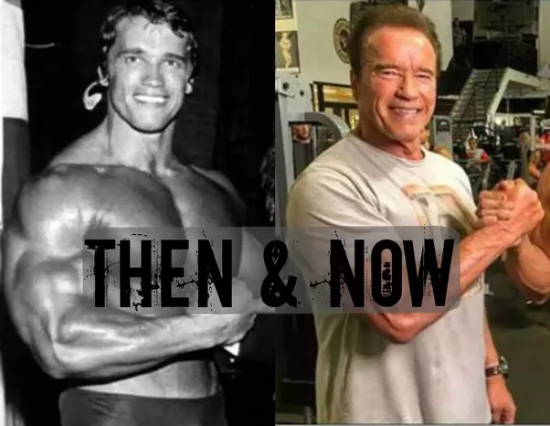 Where did Arnold Schwarzenegger's muscles go? Why is he so