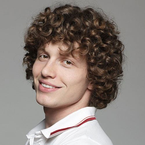 What Kinds Of Haircuts Look Good On Young Men With Very Curly Hair