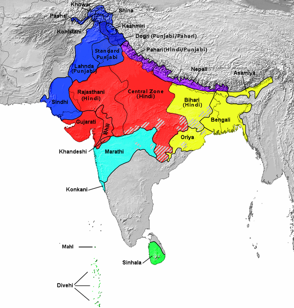 Do Hindi Native Speakers Have Advantage To Understandlearn Non - Hindi speakers in the world