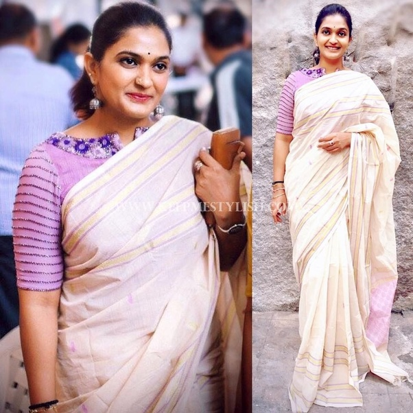 Which Saree Is Suitable For Fat Ladies Quora