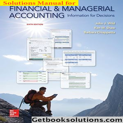 Where can i download the solution manual for financial and solution manual for financial and managerial accounting 6th edition fandeluxe Gallery