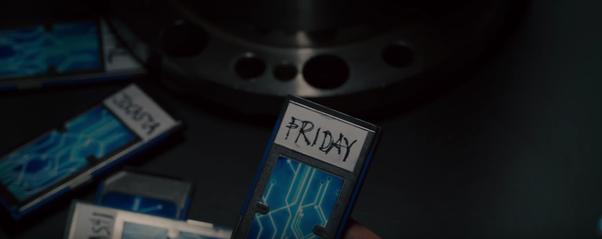 Except from J A R V I S  and F R I D A Y , what are the