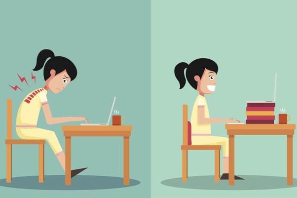 Image result for good sitting posture