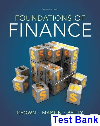 Fundamentals Of Financial Management 8th Edition Pdf
