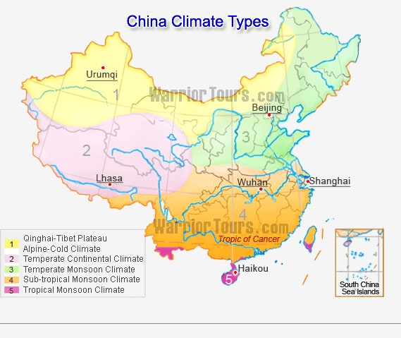 climate map of china What Is The Climate Of China Quora climate map of china