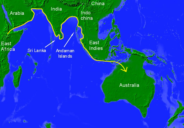 Map Of Australia 60000 Years Ago.The Natives Of Sri Lanka Is Sinhala Though Sri Lanka Was Part Of The