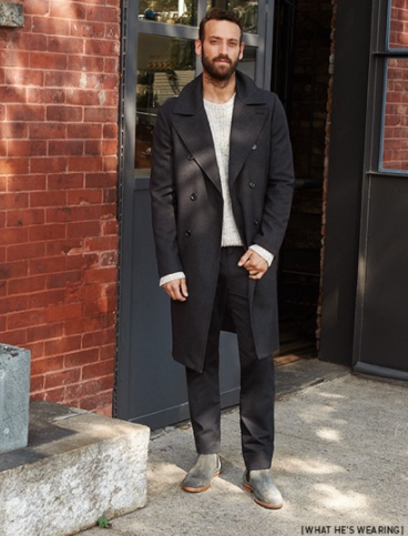 What Footwear Can Men Wear With A Black Coat Quora