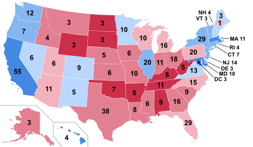Which states that Trump lost in 2016 can he win in 2020? - Quora