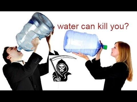 How can drinking too much water kill you and how much can